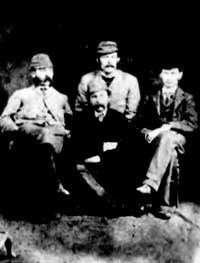 Photograph of William & Thomas McWilliam & James & Lowry Morell