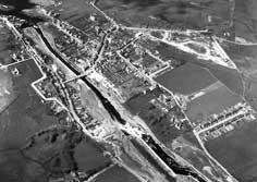 Aerial view of Ballyshannon