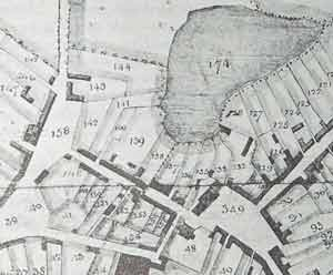 Fragment of Neville Survey Map of Monaghan